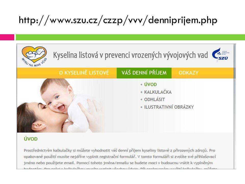 http://www.szu.cz/czzp/vvv/denniprijem.php