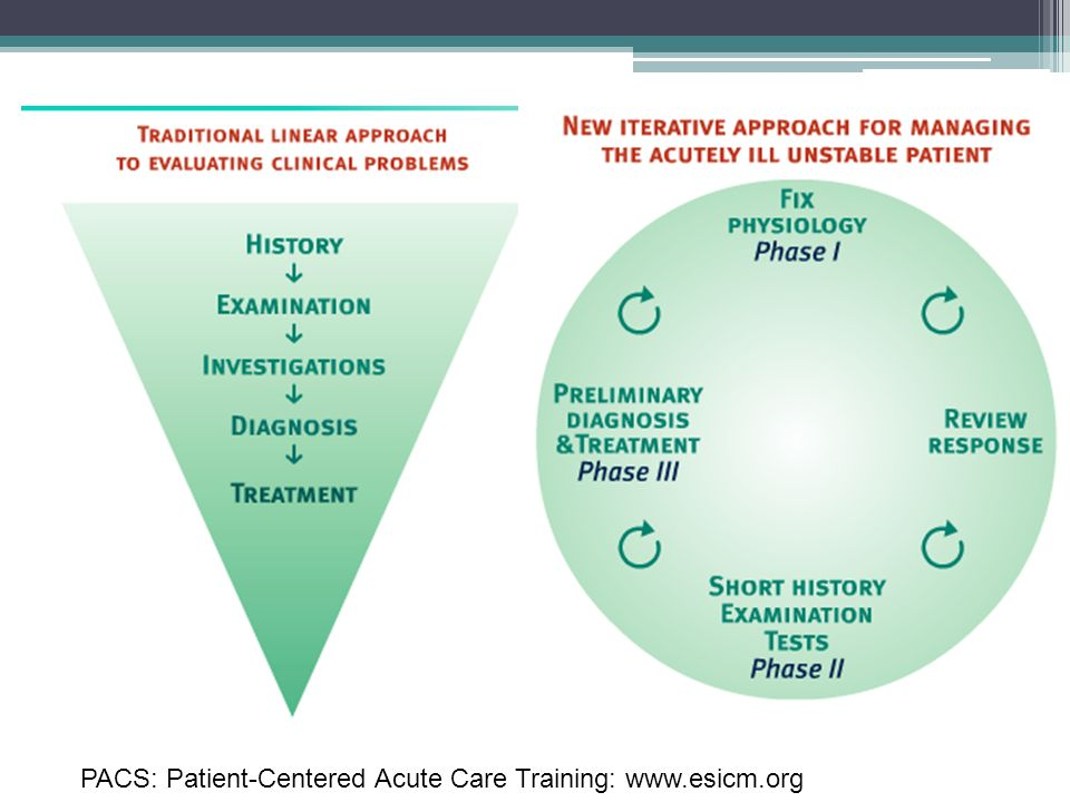 PACS: Patient-Centered Acute Care Training: www.esicm.org