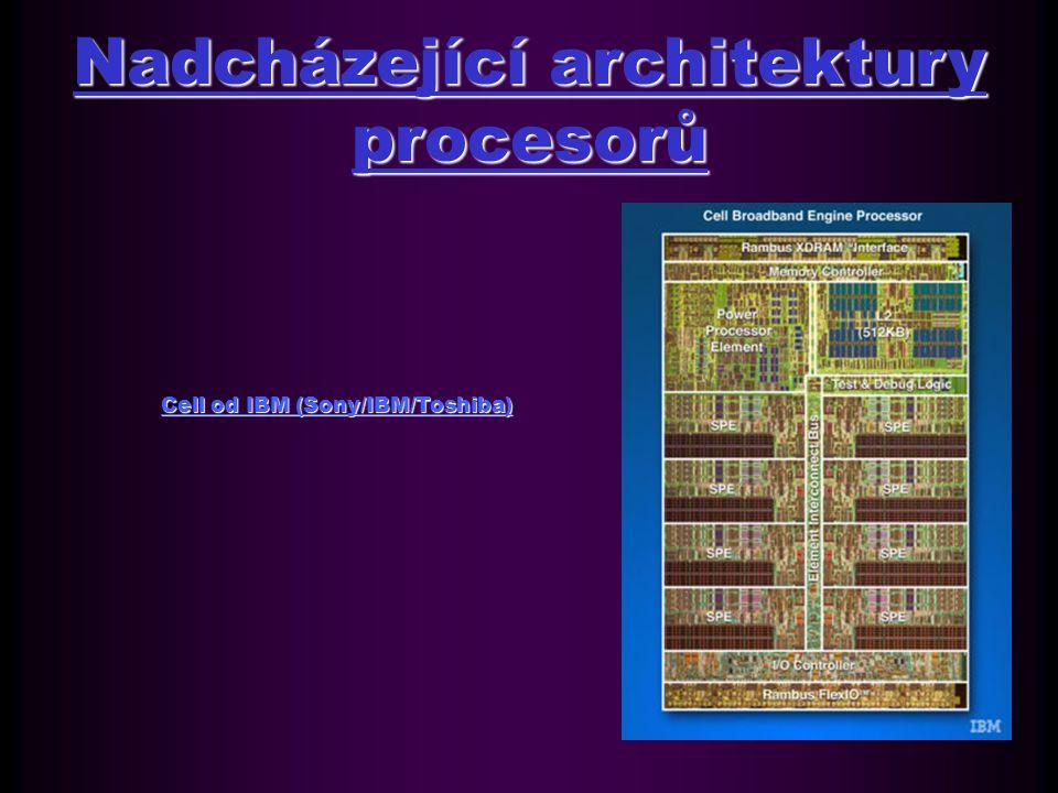Architektury procesorů pracovních stanic a serverů SPARC firmy Sun MicrosystemsSPARC firmy Sun Microsystems POWER firmy IBMPOWER firmy IBM Architektura MIPS od MIPS Computer Systems Inc.
