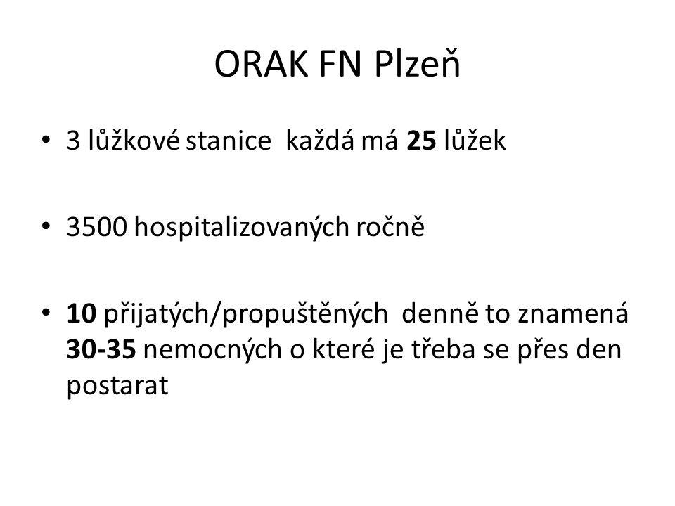 ORAK FN Plzeň se specializuje na… poskytování individualizované systémové cílené léčby náročné aplikace režimů léčby cytostatiky aplikaci cílené léčby regionální aplikaci chemoterapie léčbu vzácných typů nádorů, léčbu pomocí radioterapie včetně brachyterapie