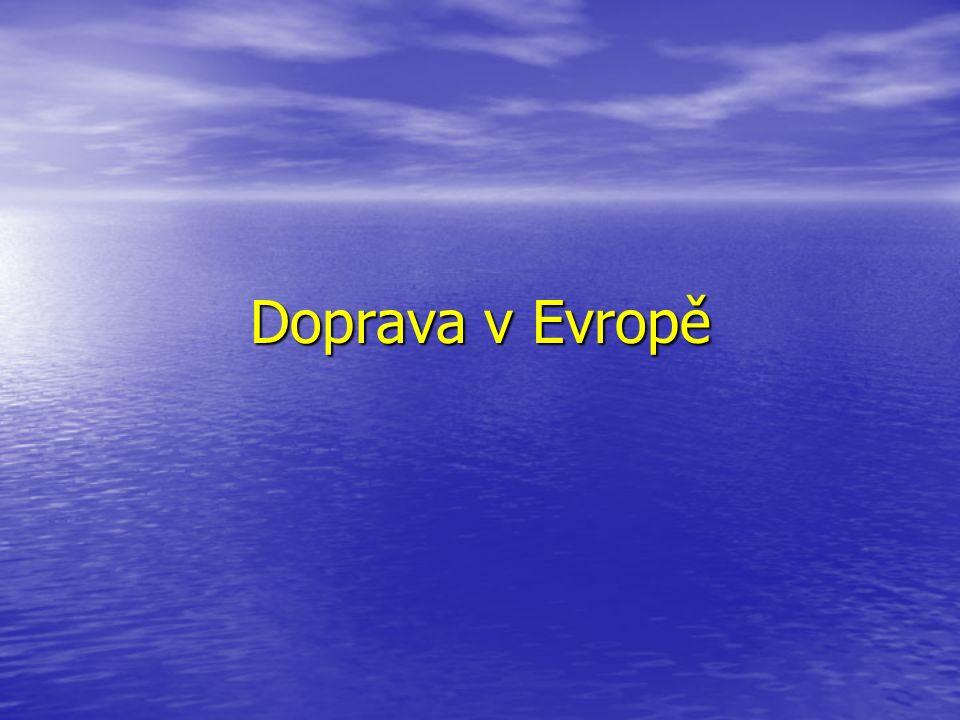 Doprava v Evropě