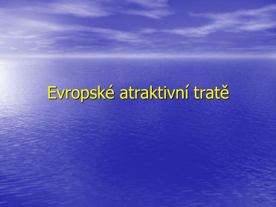 Evropské atraktivní tratě