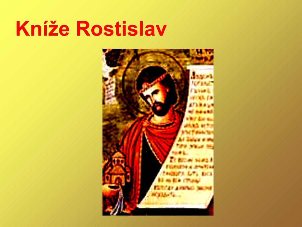 pokus o dobovou rekonstrukci Rostislavovy podoby