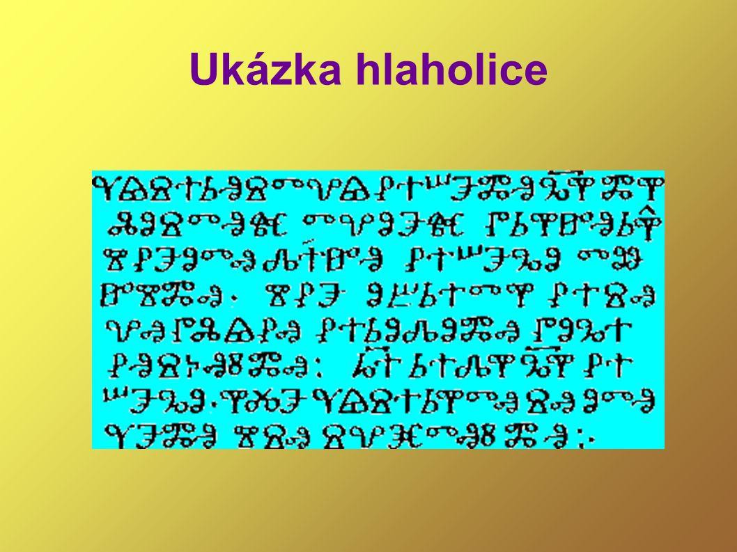 Konstantin a Metoděj přicházejí na Velkou Moravu roku 863 -šíří křesťanství, vychovávají kněží, křtí, vyučují jazyk a písmo -do staroslověnštiny přeložili části bible, sepsali další náboženské spisy – např.