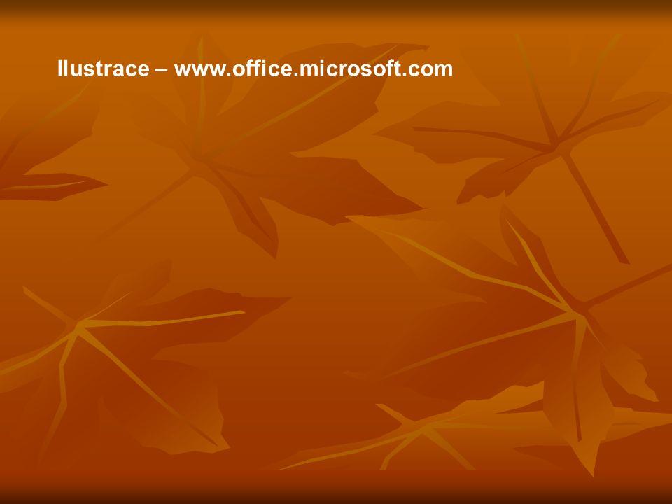 Ilustrace – www.office.microsoft.com