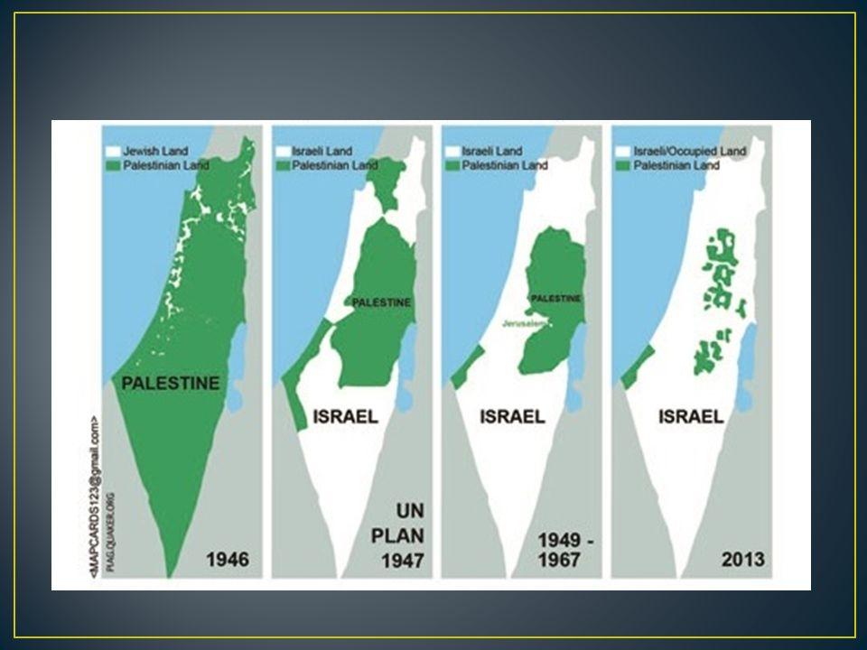 správu na deklarovaném území Státu Palestina vykonávají: tzv.