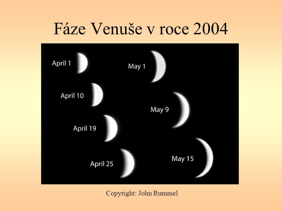 Fáze Venuše v roce 2004 Copyright: John Rummel