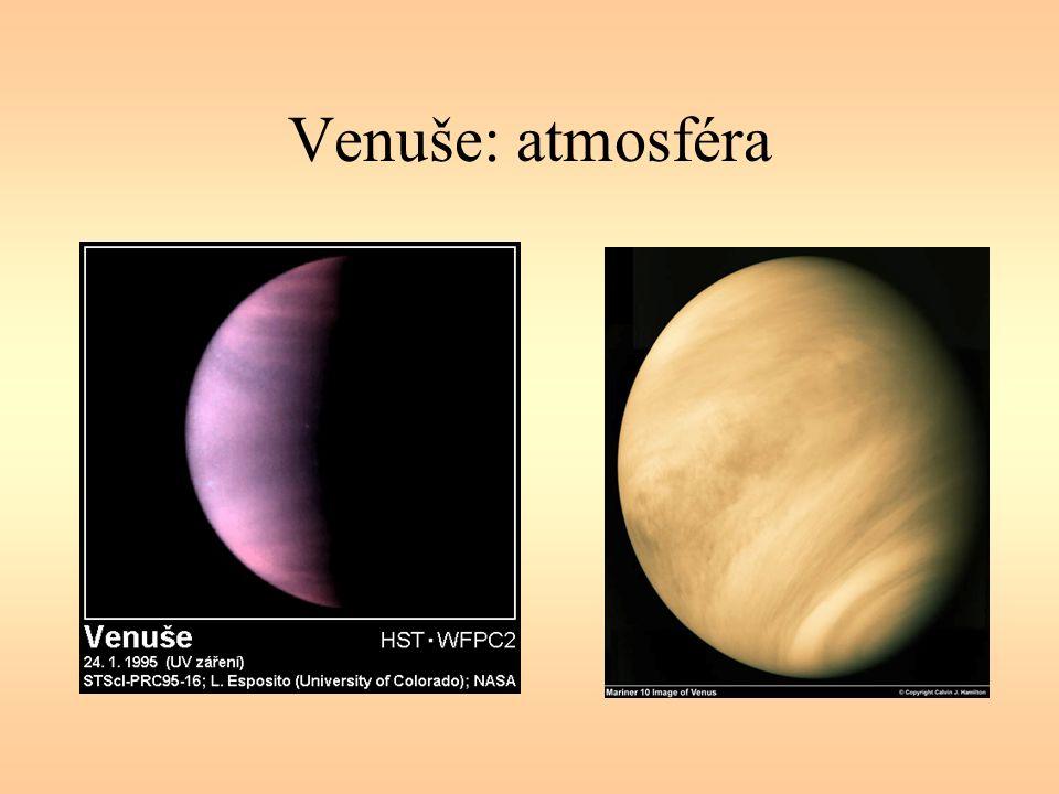 Venuše: atmosféra