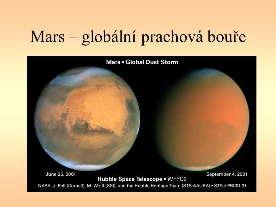 Mars – globální prachová bouře
