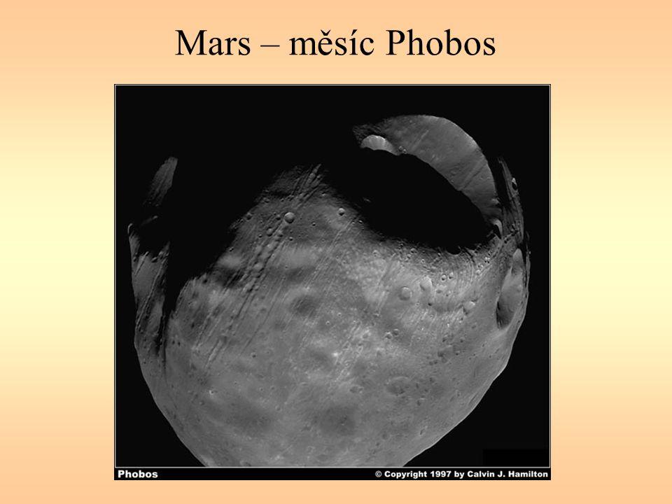 Mars – měsíc Phobos