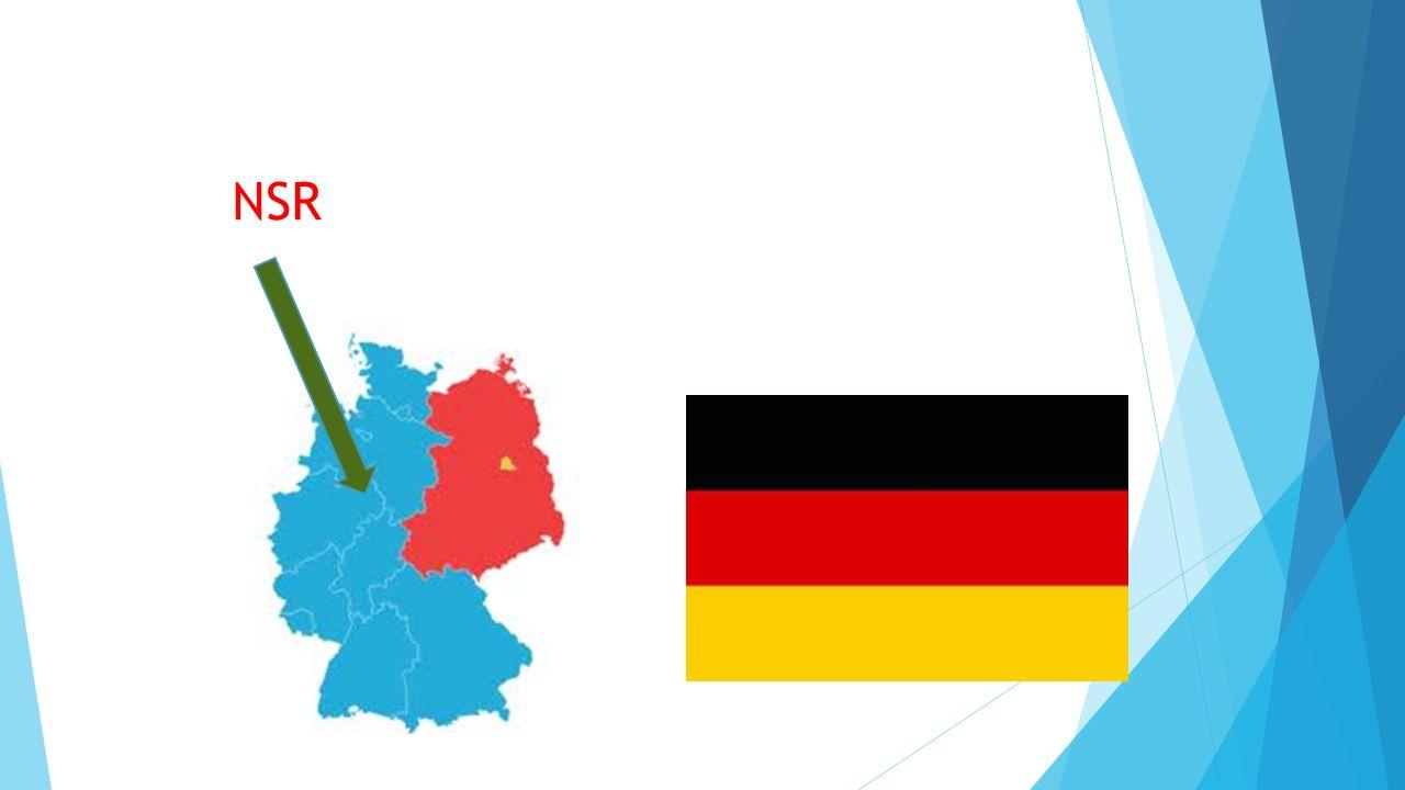  Vznik Německé demokratické republiky (NDR - říjen 1949);  komunistická, vliv SSSR. NDR