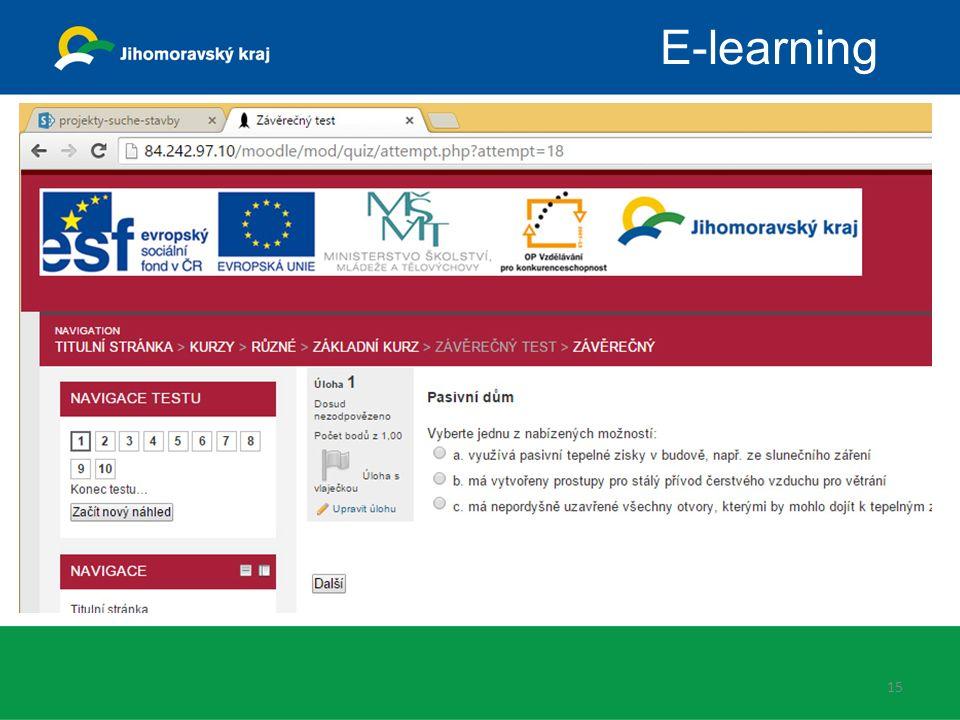 15 E-learning