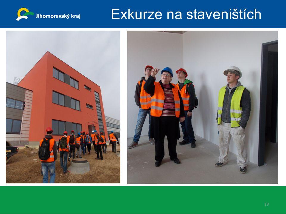 19 Exkurze na staveništích