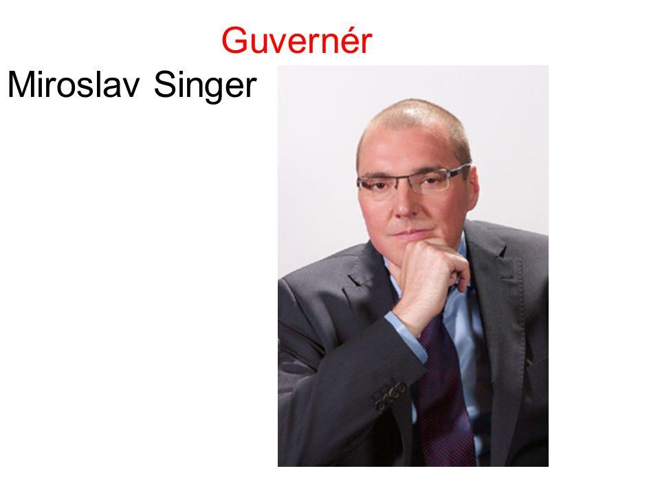 Guvernér Miroslav Singer