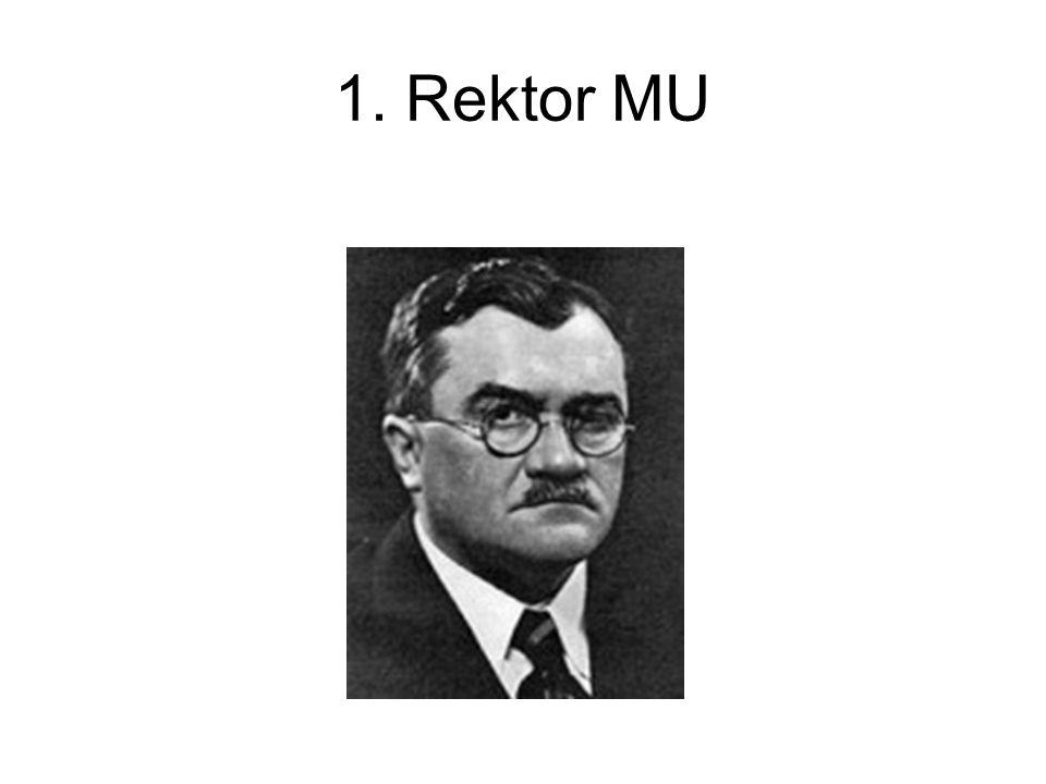 1. Rektor MU