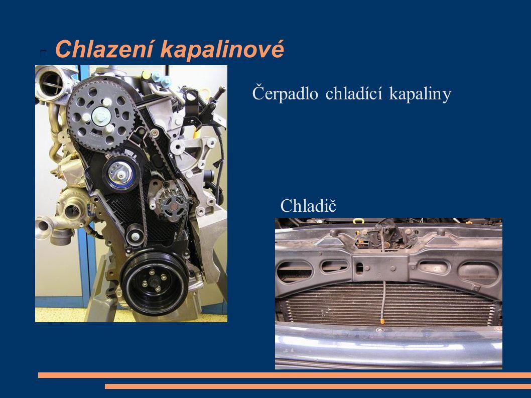 Chlazení kapalinové Čerpadlo chladící kapaliny Chladič