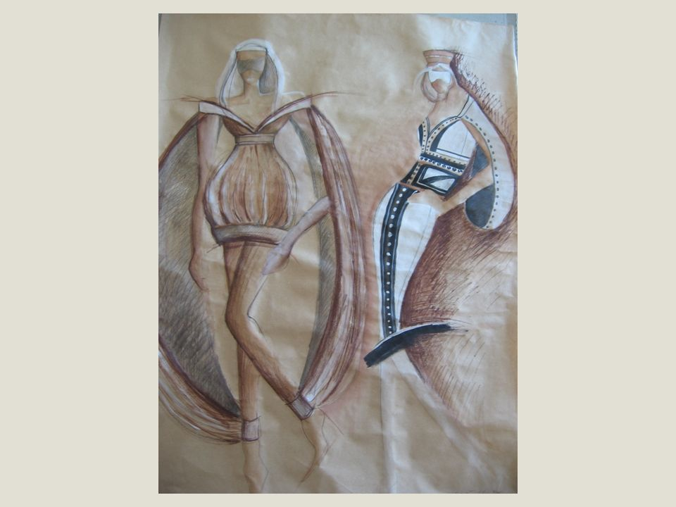 RANÁ GOTIKA Záliba ve štíhlých, protáhlých tvarech, která je tak patrná na gotické architektuře, ovlivňovala módní siluetu.