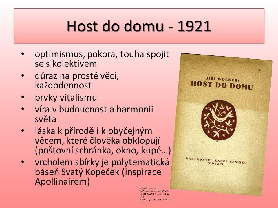 Host do domu - 1921 POKORA Stanu se menším a ještě menším, až budu nejmenším na celém světě.