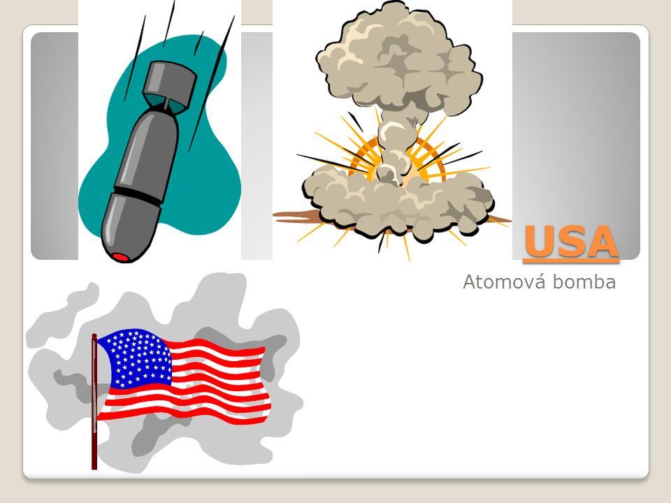 USA Atomová bomba