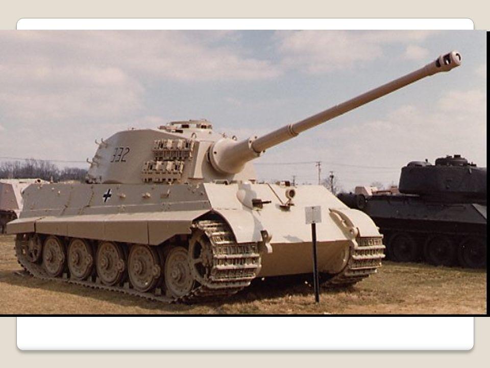 Těžký tank Maus Nejtěžší tank druhé světové války.