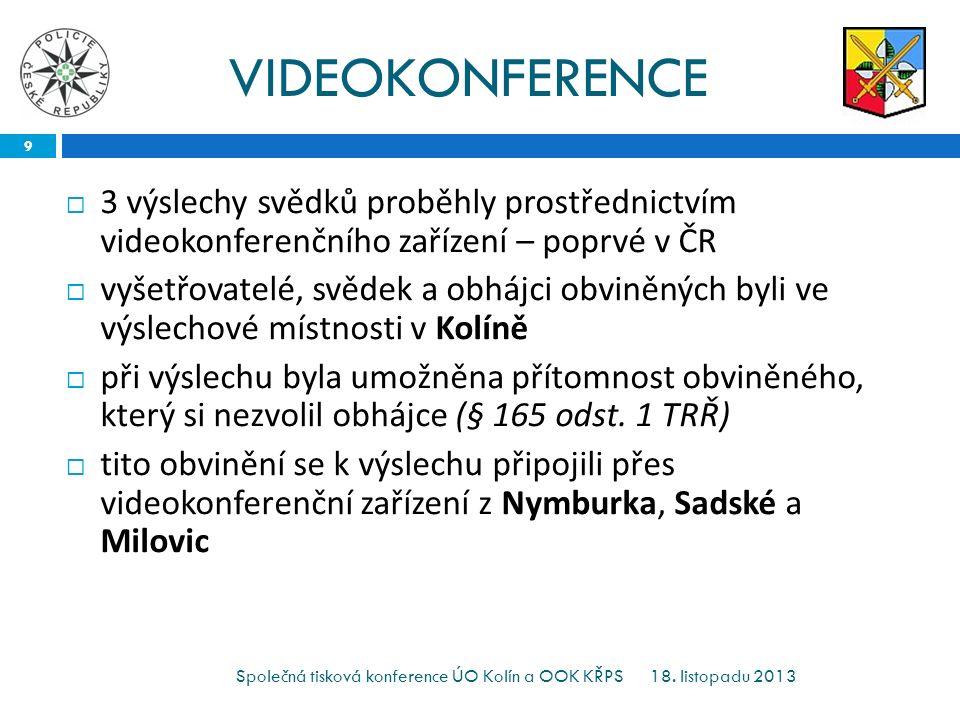 VIDEOKONFERENCE 18.