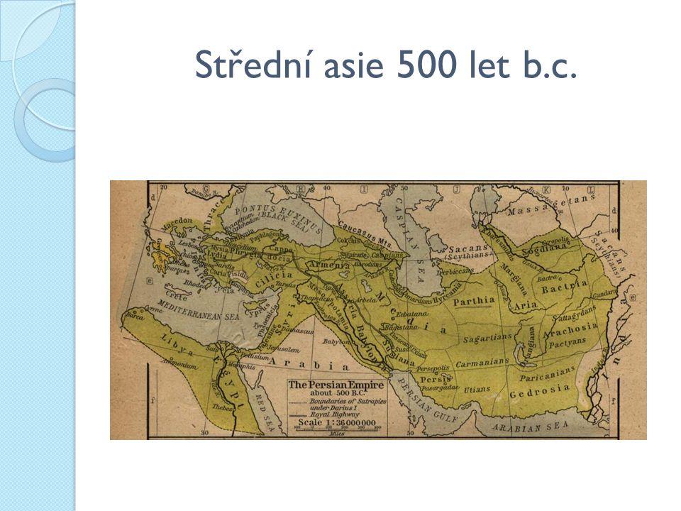 Střední asie 500 let b.c.