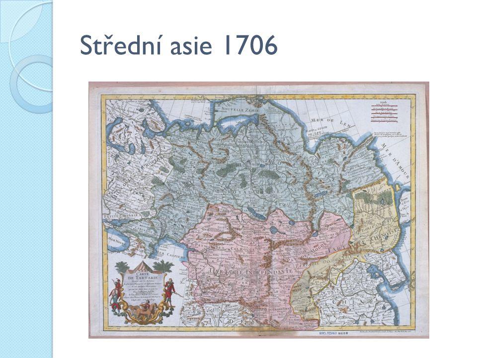 Střední asie 1706