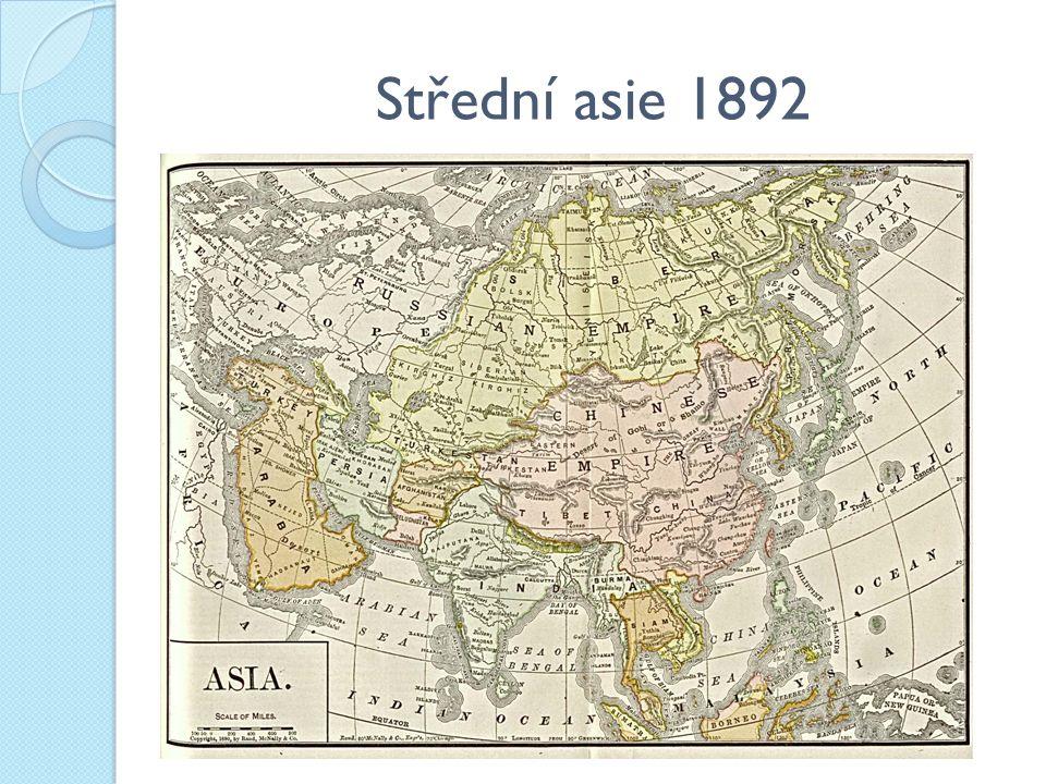 Střední asie 1892