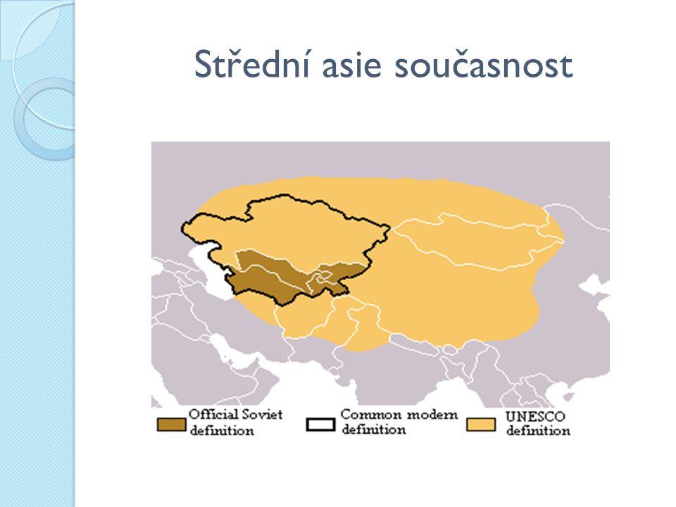 Střední asie současnost