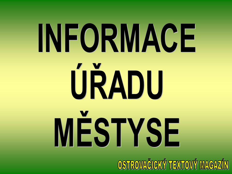 vloženo 7.května Společnost 67 s.r.o. Ostrovačice oznamuje, že od 1.