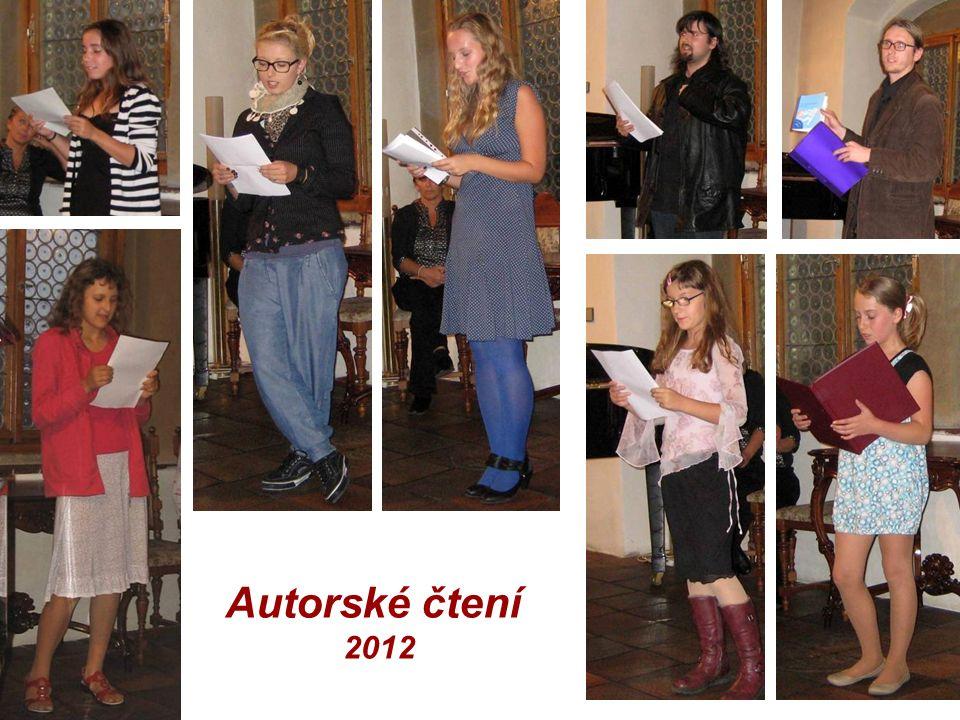 Autorské čtení 2012