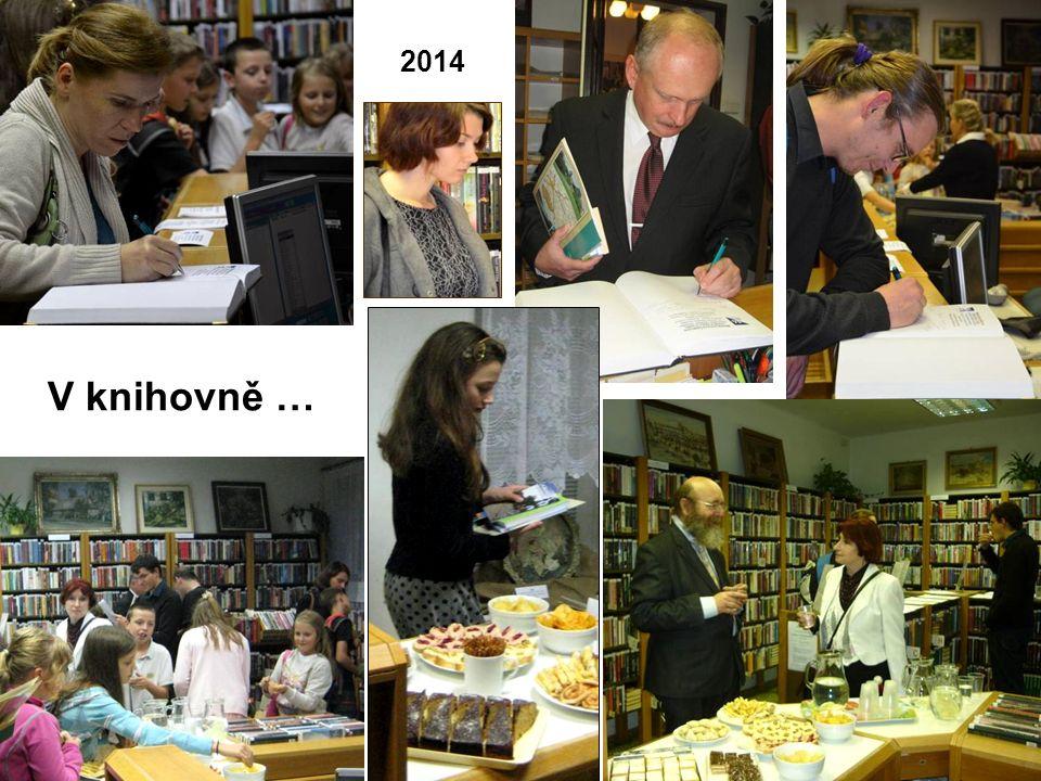 V knihovně … 2014