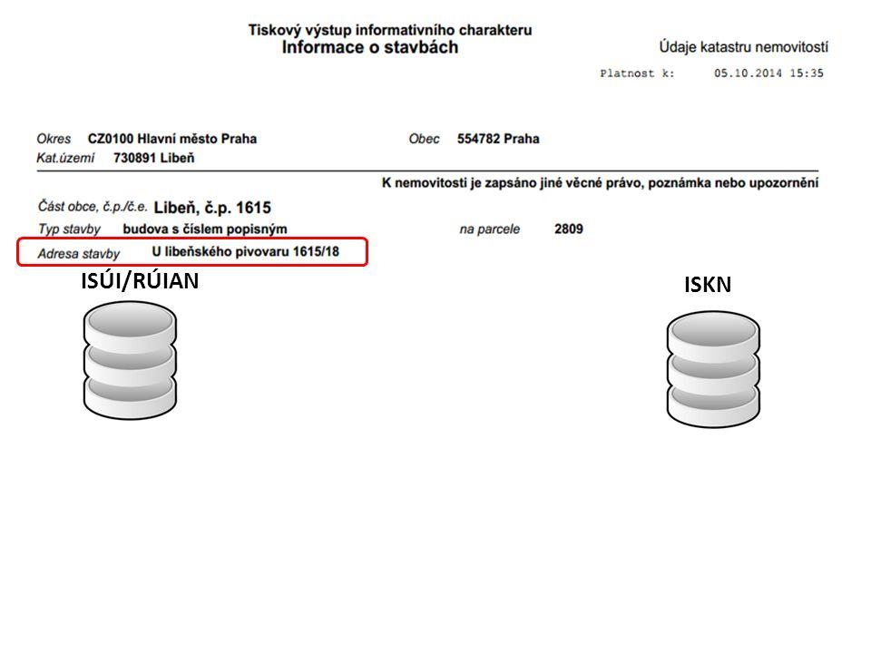 Reklamace z ISKN do ISÚI (CR045)  Oprava stavebního objektu (OSO)  K existujícímu SO s číslem domovním, kterému byla zapsána v ISKN odpovídající budova, avšak u SO chybí parcela (nebo je uvedena parcela, která neodpovídá žádné parcele pod budovou).