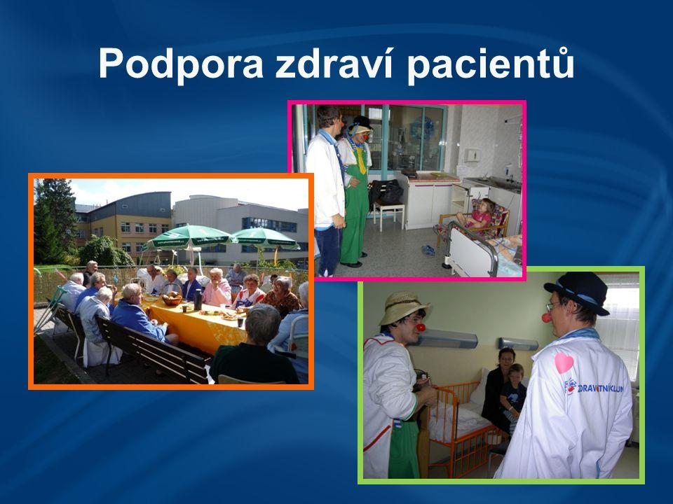 Podpora zdraví pacientů