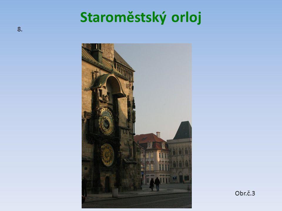 Staroměstský orloj 8. Obr.č.3