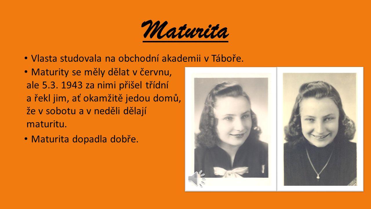 Vlasta Faktorová Rozená Daňková Narodila se 7.2.1923 v Sedlčanech v ulici 28. října číslo 173. Byla to už 2. dcera svých rodičů. Její otec byl dvorním
