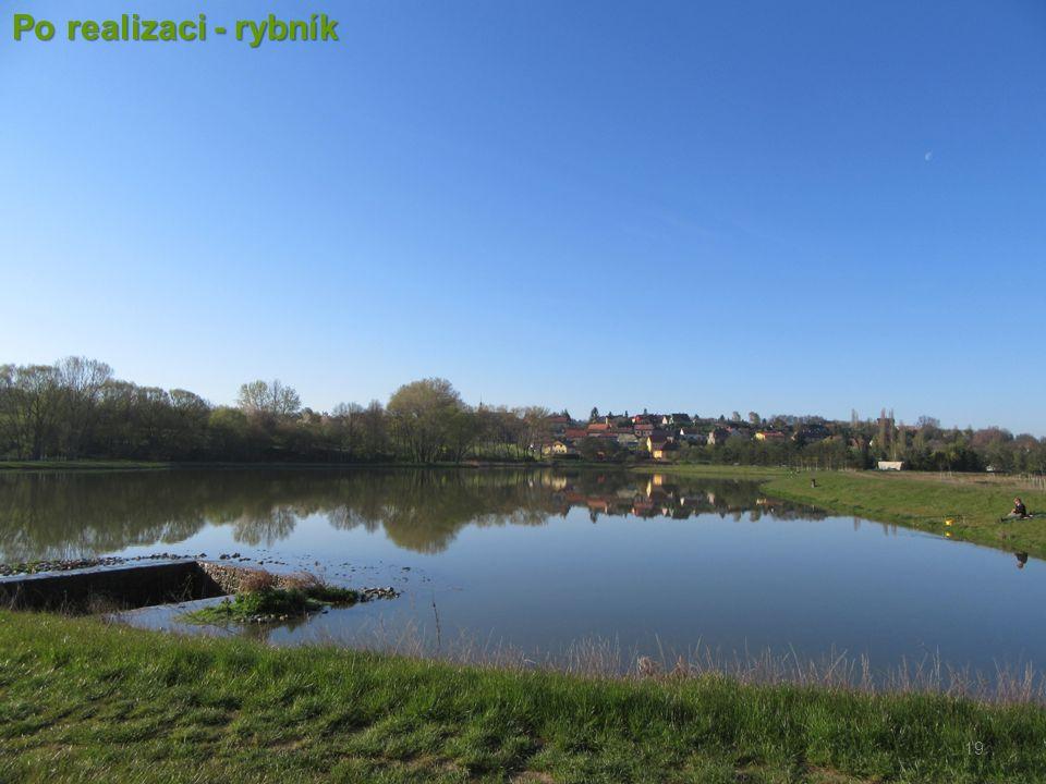 19 Po realizaci - rybník