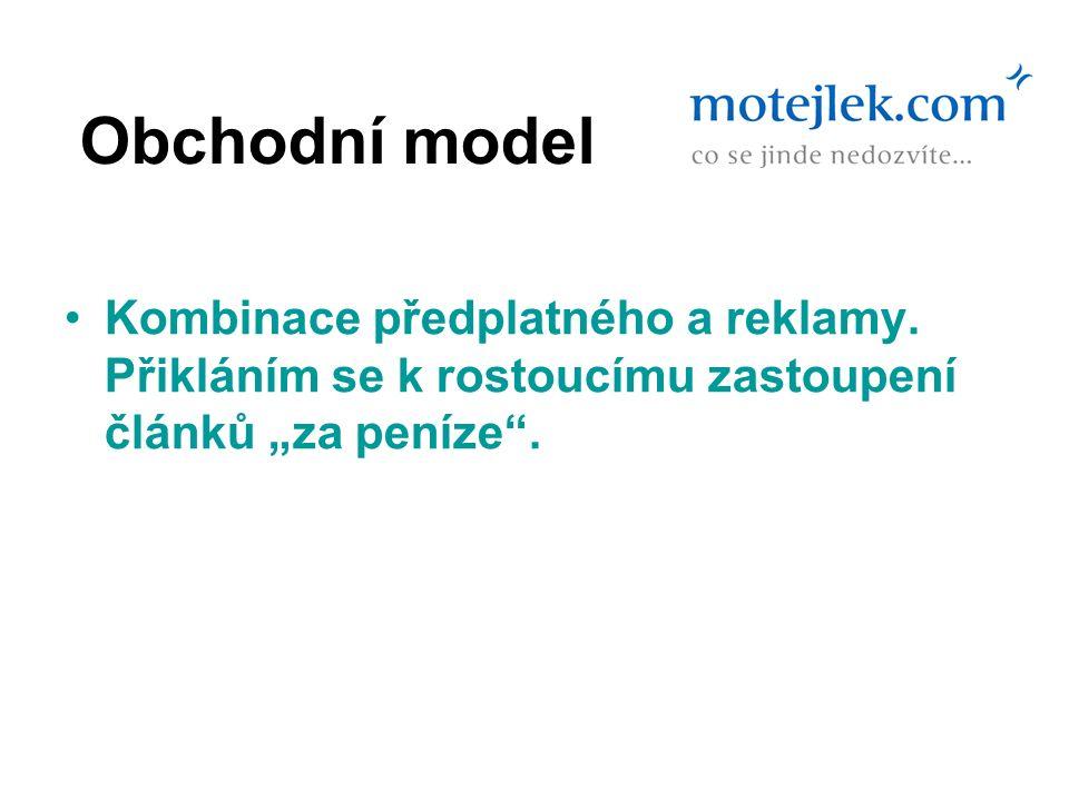 Obchodní model Kombinace předplatného a reklamy.