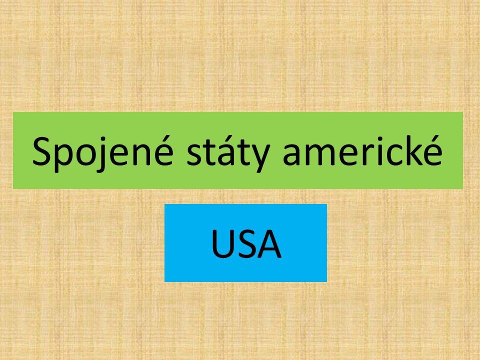 Spojené státy americké USA