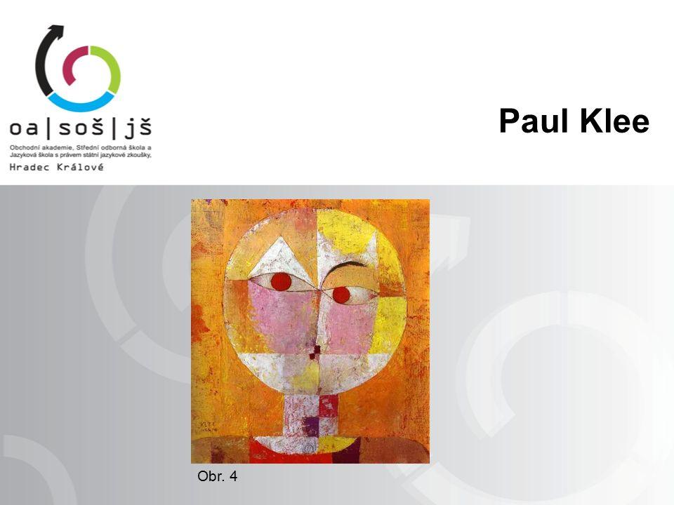Paul Klee Obr. 4