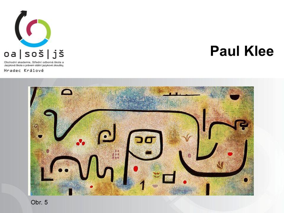 Obr. 5 Paul Klee