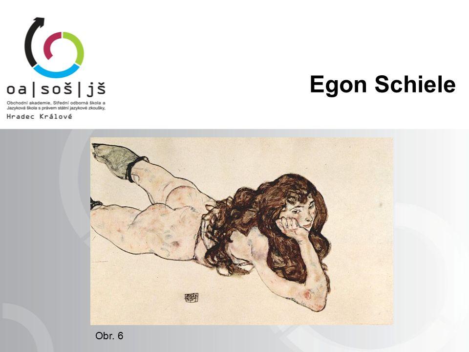 Egon Schiele Obr. 6