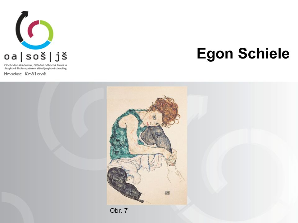 Obr. 7 Egon Schiele