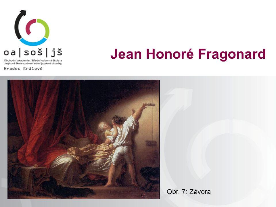 Obr. 7: Závora Jean Honoré Fragonard