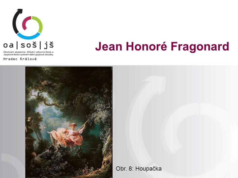 Obr. 8: Houpačka Jean Honoré Fragonard