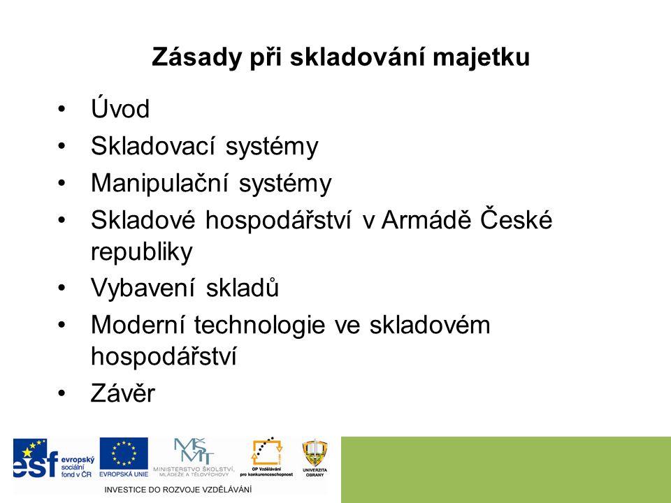 Na konkrétních příkladech (civilních firem) vysvětlit studentům možnosti využití automatických vozíků, které jsou integrovány do výrobních procesů ve vazbě na skladové hospodářství.