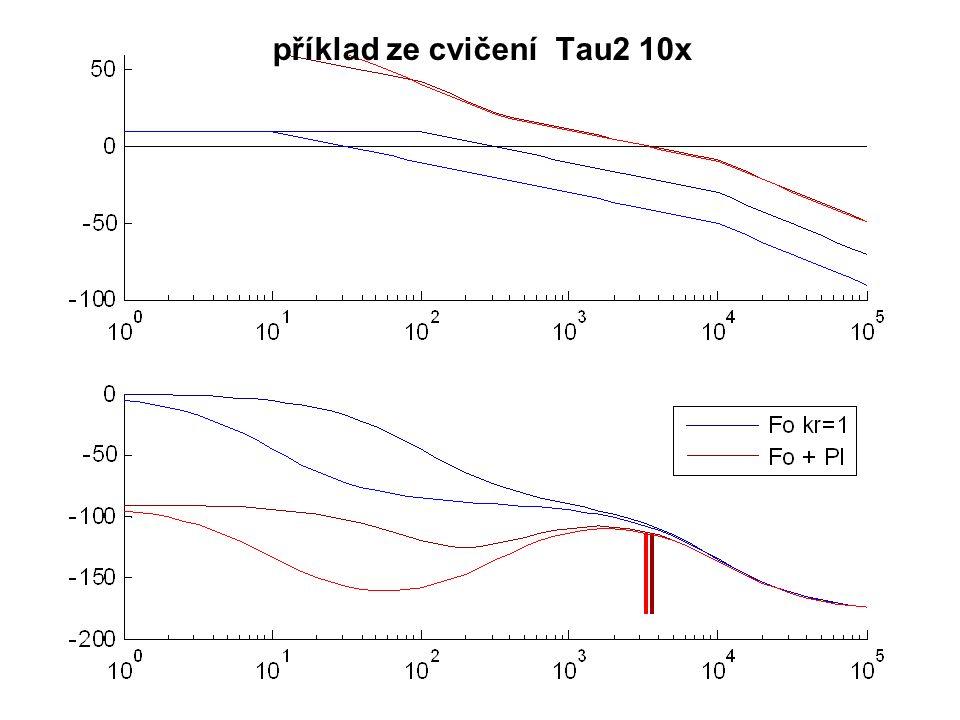 příklad ze cvičení Tau2 10x