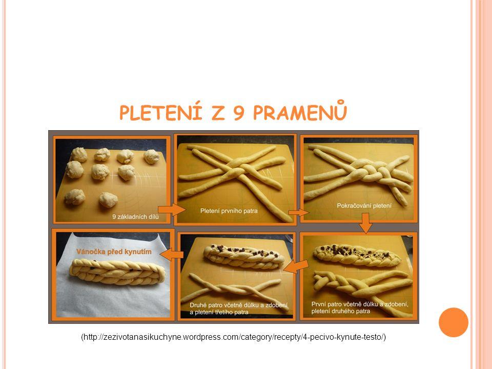 PLETENÍ Z 9 PRAMENŮ (http://zezivotanasikuchyne.wordpress.com/category/recepty/4-pecivo-kynute-testo/) l