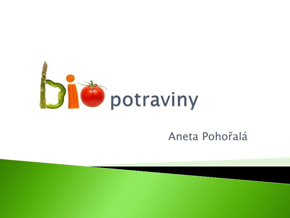 """BIOprodukt ekologického zemědělství  Správně označená biopotravina nese na svém obalu název """"BIO nebo """"produkt ekologického zemědělství , grafické logo biozebry a kód kontrolní organizace Toto logo mohou používat pouze výrobci, jejichž výrobky: ◦ Splňují všechny stanovené podmínky pro ekologické zemědělství dané legislativou ◦ Prošly kontrolou jedné z kontrolních organizací ◦ Obdržely certifikát o původu biopotraviny"""
