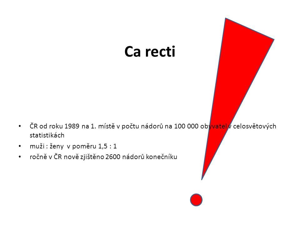 Ca recti ČR od roku 1989 na 1.